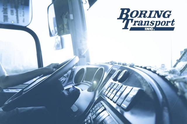 boring transport driver image
