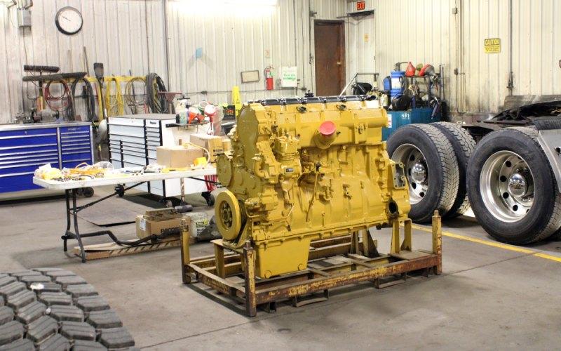 Fully Restored Engine