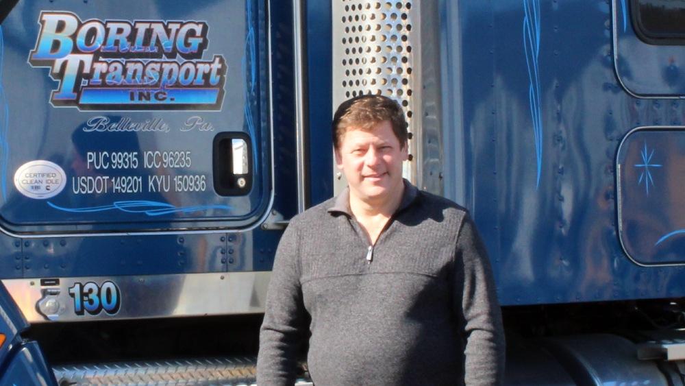 Troy Boring - Boring Transport Owner